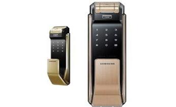 防盗门开锁换锁修锁-安装指纹锁