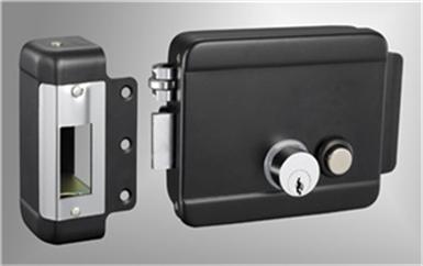 雷州电子门禁系统接线原理安装详解图-磁力锁安装示意图