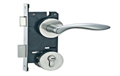 茶山从外面怎么打开执手锁-门缝太紧卡片开锁