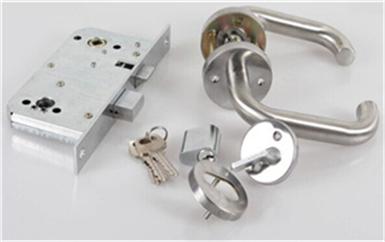 企石电子门禁系统接线原理安装详解图-磁力锁安装示意图