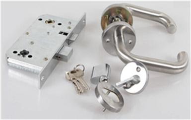 徐闻电子门禁系统接线原理安装详解图-磁力锁安装示意图