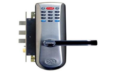 封开防盗门换锁改孔-执手锁安装图解-开锁电话