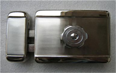 潮南电子门禁系统接线原理安装详解图-磁力锁安装示意图
